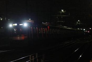2012年9月12日、西所沢、東急4104Fの西武池袋線 4705レ(40M運用)。