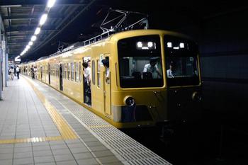 2012年9月21日19時21分ころ、富士見台、285F+1309Fの各停 飯能ゆき(3109レ?)。