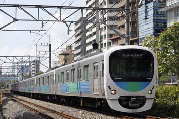2012年9月20日、高田馬場~下落合、38108Fの5134レ。