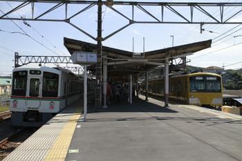 2012年10月8日10時36分ころ、高麗、1番ホームから発車した3001Fの上り回送列車。
