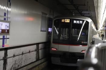 2012年10月17日、池袋、東急4104Fの815T列車。