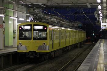 2012年10月27日 17時14分ころ、小手指、2番ホームから発車した285F+281Fの上り回送列車。
