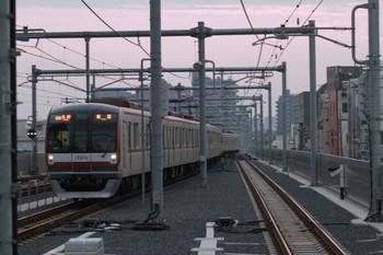 2012年10月27日、石神井公園、メトロ10014Fが代走の6551レ。