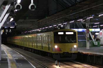 2012年11月25日 5時52分ころ、所沢、3番ホームを通過する3001Fの上り回送列車。