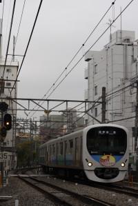 2012年11月28日、高田馬場~下落合、38108Fの5143レ。