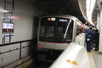 2012年11月26日、池袋、東急5155Fの711S列車。