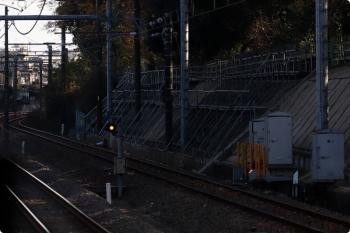 2020年12月6日。秋津〜所沢。右端の線路は所沢駅からJR新秋津駅へ延びる連絡線。