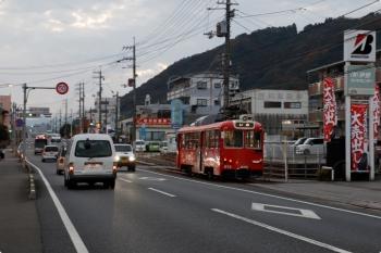 2020年12月10日 17時0分ころ。枝川〜伊野商業前。613の伊野ゆき。