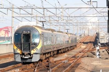 2020年12月11日 11時34分ころ。宇多津。8600系3+2連の特急 しおかぜ12号が岡山へ発車。