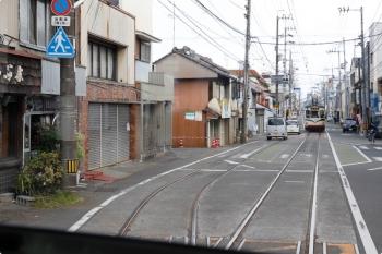 2020年12月12日 12時14分頃。朝倉(大学前)。交換した803の文殊通ゆき。