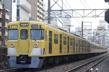 2013年1月8日、高田馬場~下落合、2403F+2061Fの2754レ。