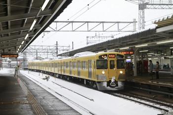 2013年1月14日、西所沢、6160レの2533F。