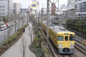 2013年2月18日、高田馬場~下落合、2403F+2007Fの2754レ。