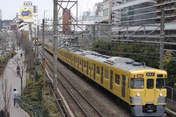2013年2月18日、高田馬場~下落合、2009F+2545Fの2803レ。