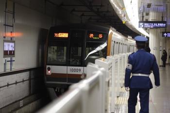 2013年2月22日、池袋、775S列車のメトロ10009F。
