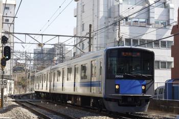 2013年3月5日、高田馬場~下落合、20155Fの5143レ。