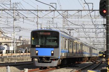 2013年3月16日、西所沢、6159レとなるため上り方から到着する20152F。