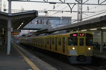 2013年3月16日、西所沢、2075Fの1002レ。