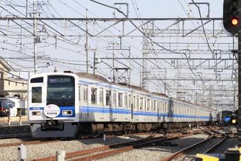 2013年3月16日、西所沢、6158Fの1863レ(02M運用)。