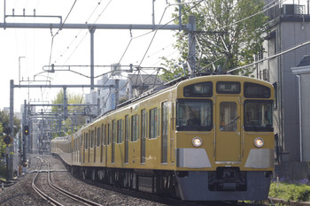 2013年4月15日、池袋~椎名町、2455F+2079Fの4301レ。