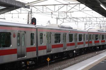 2013年5月14日、清瀬、6707レの東急5176Fに組み込まれた最初の「sustina」5576。