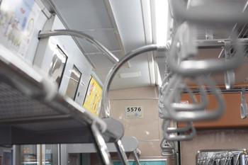 2013年5月14日、清瀬、東急5576の車内。