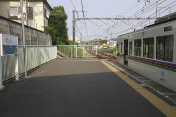 2013年9月14日、秋津、臨時停車した1001レ。