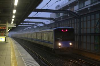2013年9月15日 6時9分頃、中村橋、20158Fの上り回送列車。