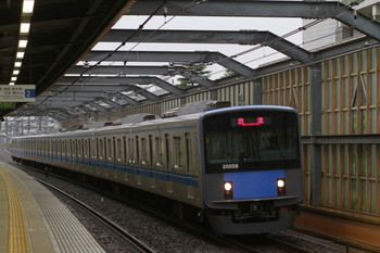 2013年9月16日 6時9分頃、中村橋、20158Fの上り回送列車。