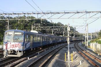 2013年10月6日 16時26分頃、入間市、通過した3015Fの上り回送列車。