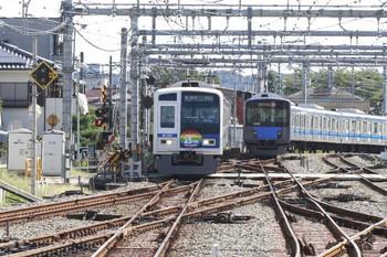 2013年10月13日、飯能、6155Fの上り各停 飯能ゆき臨時列車。