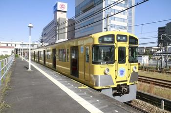 2013年10月13日 11時22分頃、東飯能、9107Fの臨時各停 飯能ゆき。