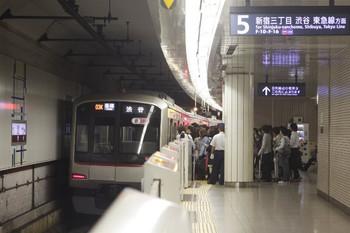 2013年10月16日 8時20分頃、池袋、東急5121Fの各停 渋谷ゆき。