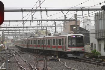 2013年10月20日、飯能、1番ホームから発車した東急4104Fの1708レ。