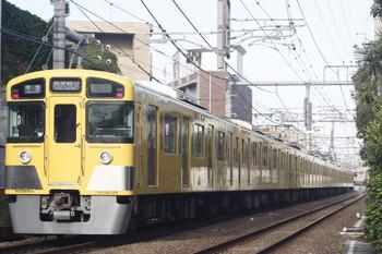 2013年10月21日、池袋~椎名町、2089F+2457Fの西武秩父ゆき4209レ。