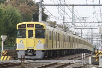 2013年11月3日、所沢~西所沢、2083Fの各停 入間市ゆき(5301レの延長)。