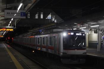 2013年11月8日、西所沢、東急4104Fの6814レ。