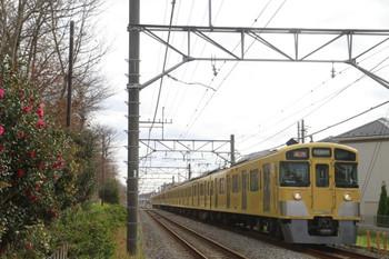 2013年12月8日、八坂~武蔵大和、2503レの2527F+2545F。