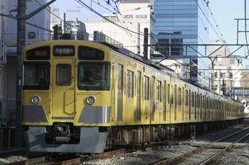2013年12月29日、高田馬場~下落合、2519F+2509Fの2503レ。