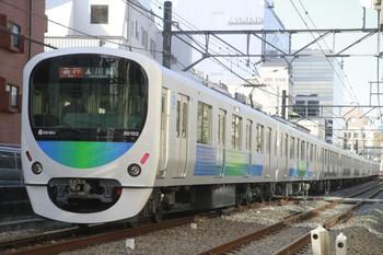 2014年1月12日、高田馬場~下落合、30102Fの2639レ。