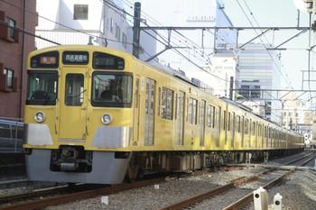 2014年1月12日、高田馬場~下落合、(<-新宿)2535F+2505Fの2503レ。