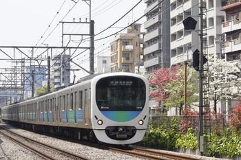 2014年4月17日、高田馬場~下落合、38108Fの5128レ。