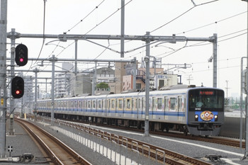 2014年7月19日12時18分頃、石神井公園、20152Fの臨時急行 西武球場前ゆき。