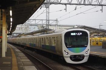 2014年7月25日、西所沢、前照灯がLED式となった30101Fの4227レ。
