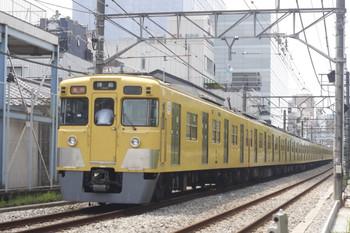 2014年8月1日、高田馬場~下落合、2327レの2009F+2517F。