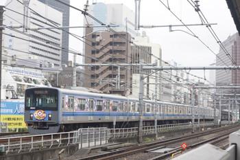2014年8月27日、西武新宿~高田馬場、20152Fの5137レ。<br />