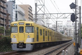 2014年9月8日、高田馬場~下落合、2409F+2005Fの4608レ。