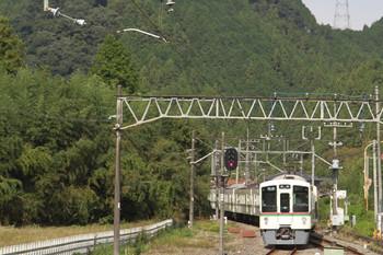 2014年10月20日、武蔵横手、(<-飯能)4019F+4011Fの5093レ。