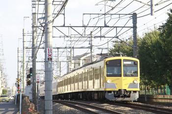 2014年10月19日 14時59分ころ、所沢~西所沢、263Fに牽引され小手指へ向かう30103Fの池袋方5両。