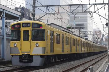 2014年11月28日、高田馬場~下落合、2045F+2509Fの2639レ。